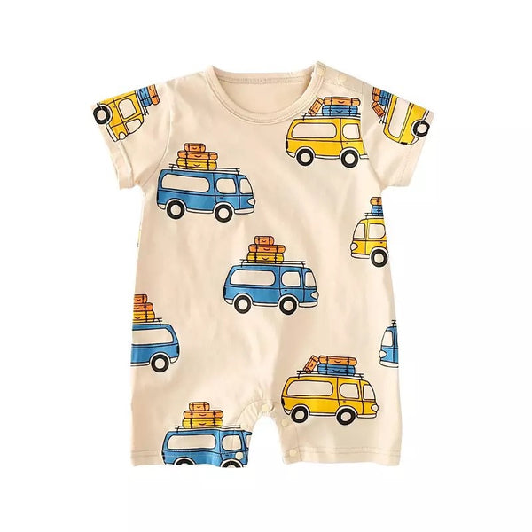 Going Places Bus Romper