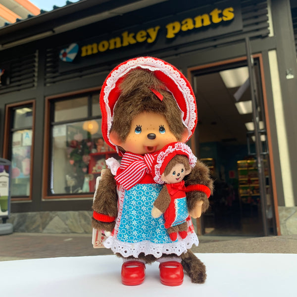 Monchhichi Little Red Riding Hood 8 inch Doll