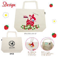 Puchi Babie Large Canvas Tote Bag