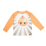 """Kewpie Doll"" Raglan Sleeve Shirt by Hot Cheese"