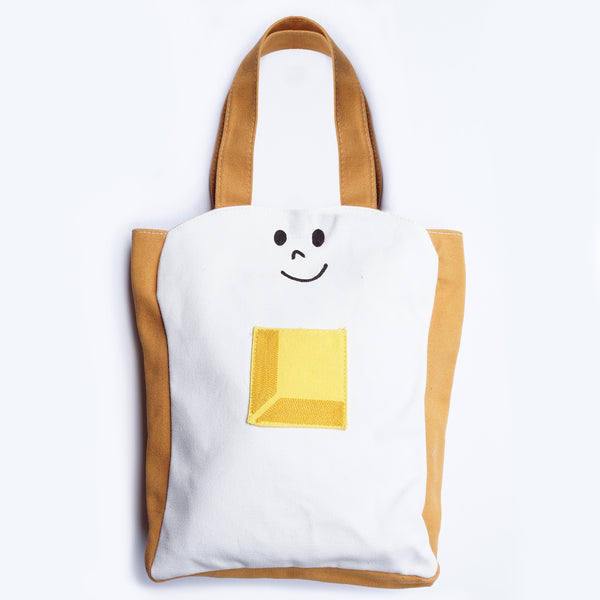 Buttered Toast Canvas Tote Bag