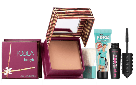 Benefit Cosmetics Primer, Bronzer & Mascara Set