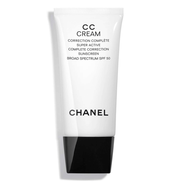 CHANEL CC CREAM Correction Sunscreen SPF50