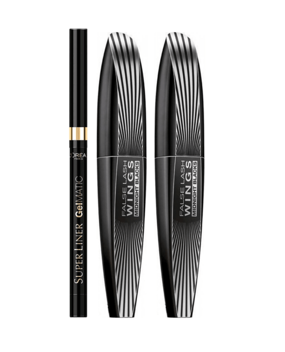 L'Oreal False Lash Wings Midnight Travel Set