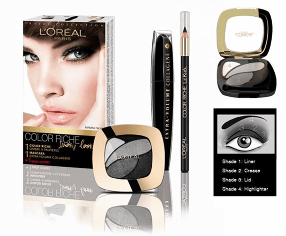 L'Oreal Smoky Look Travel Set