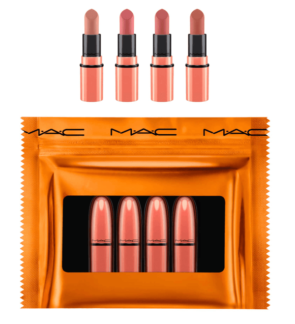 MAC Shiny Pretty Things Nude Mini Lipstick Kit