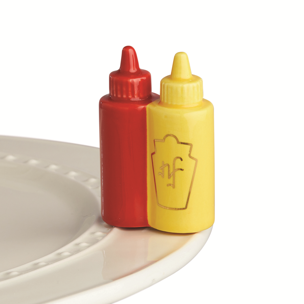 Nora Fleming Ketchup and Mustard Main Squeeze Mini