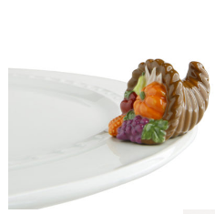Nora Fleming Autumn's Bounty Cornucopia Mini (A162)