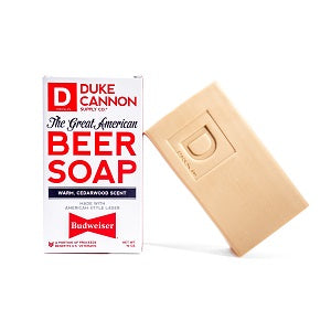 Duke Cannon Great American Beer Soap - Budweiser