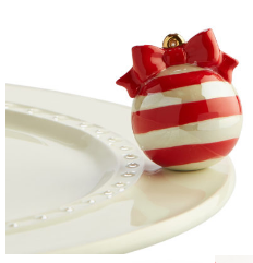 Nora Fleming Deck the Halls Christmas Ornament Mini