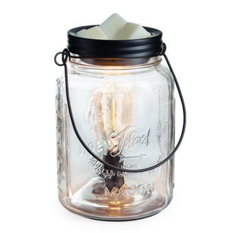 Edison Bulb Illumination Glass Mason Fragrance Warmer