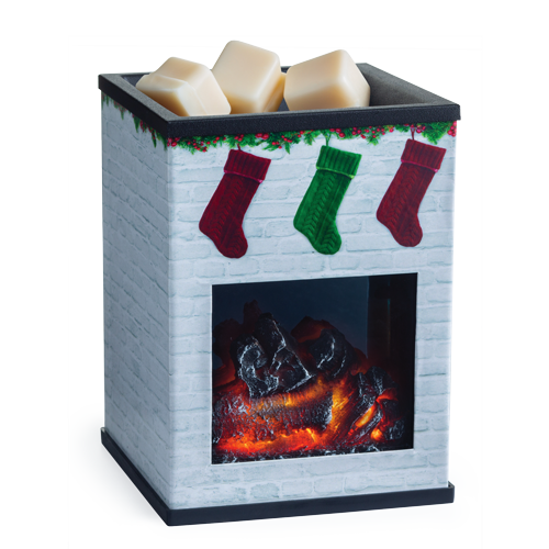 Fireplace Illumination Fragrance Warmer