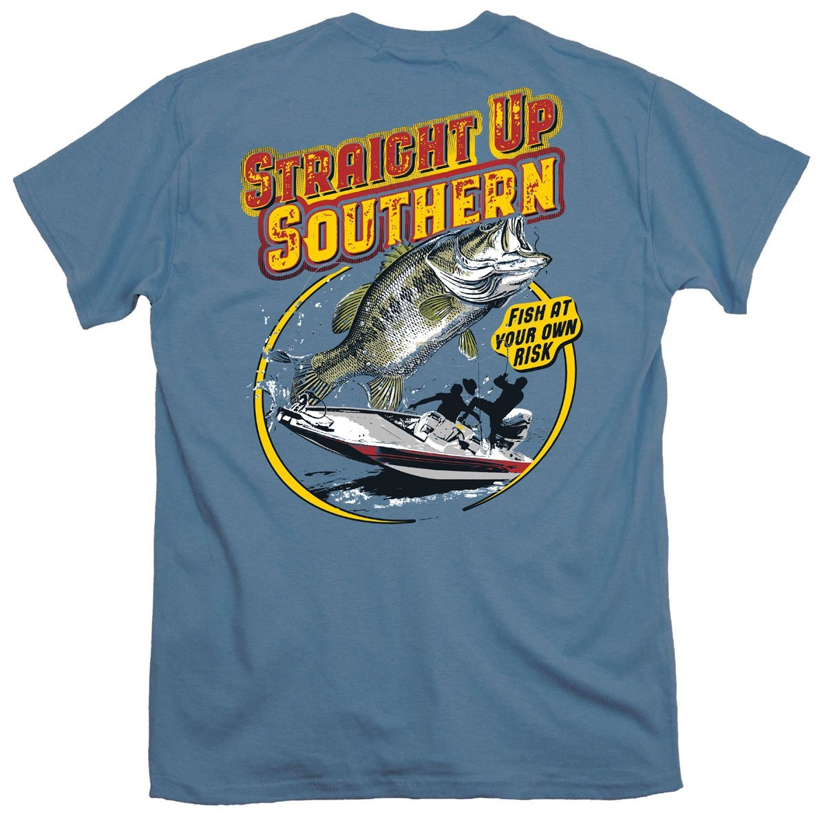 Straight Up Southern Fish At Your Own Risk YOUTH Tee