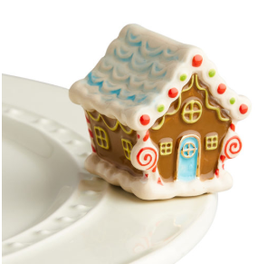 "Nora Fleming ""Candy Lane"" Gingerbread House A218"
