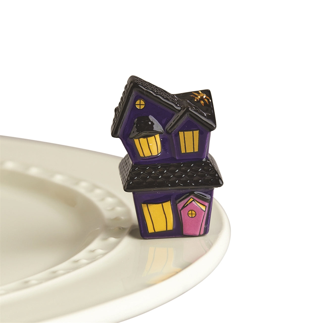 Nora Fleming Spooky Spaces Haunted House Mini A 253