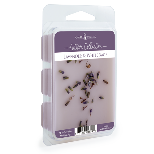 Lavender & White Sage 2.5 oz Wax Melt