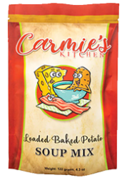 Carmie's Kitchen Loaded Baked Potato Soup