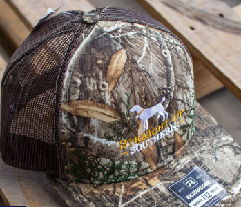 Straight Up Southern Logo Mesh Hat