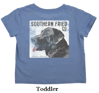 Southern Fried Cotton Original Boss Toddler Short Sleeve Tee
