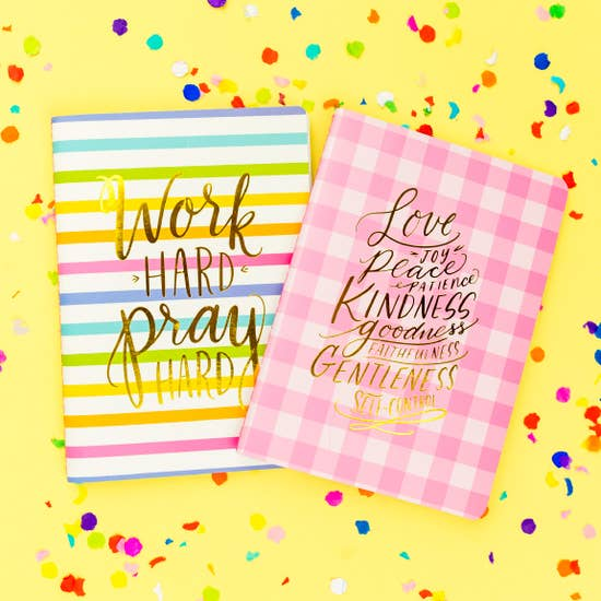 Fruits Of the Spirit Prayer Notebook Set of 2