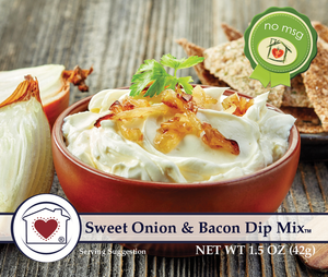 Sweet Onion and Bacon Dip Mix