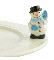 Nora Fleming Frosty Pal Snowman Mini A172