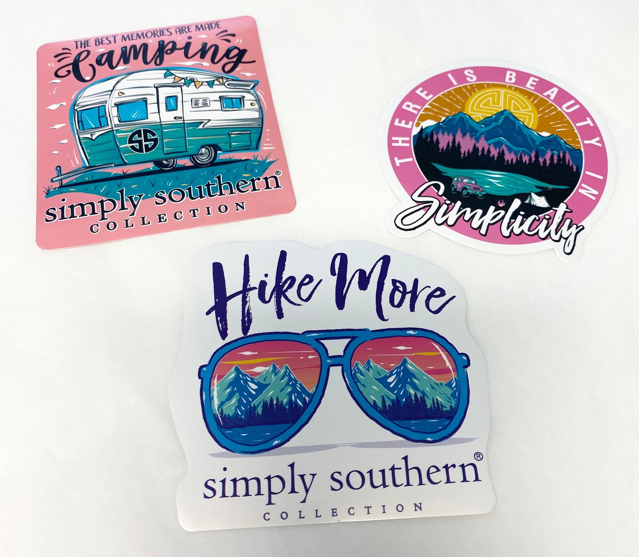 Simply Southern Sticker Pack of 3