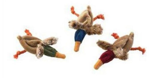 Ethical Pet Skinneeez For Cats Duck Toy with Cat Nip