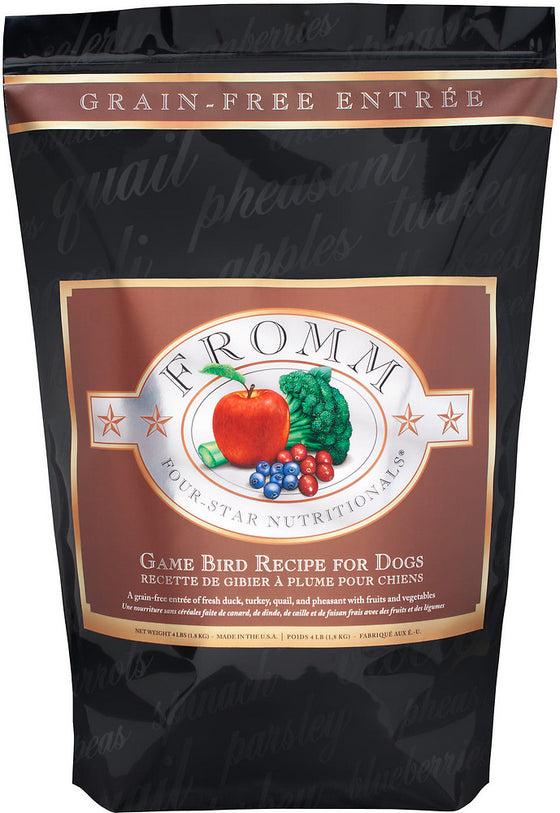 FROMM Four Star Game Bird Dry Dog Food