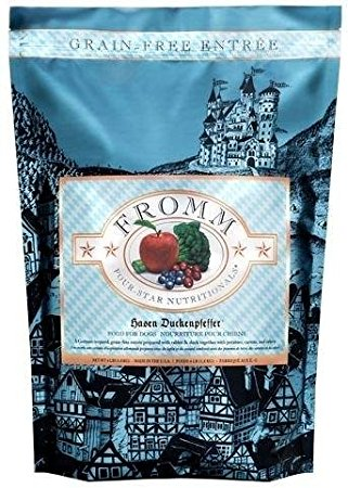 FROMM Four Star Grain Free Hasen Duckenpfeffer Dry Dog Food