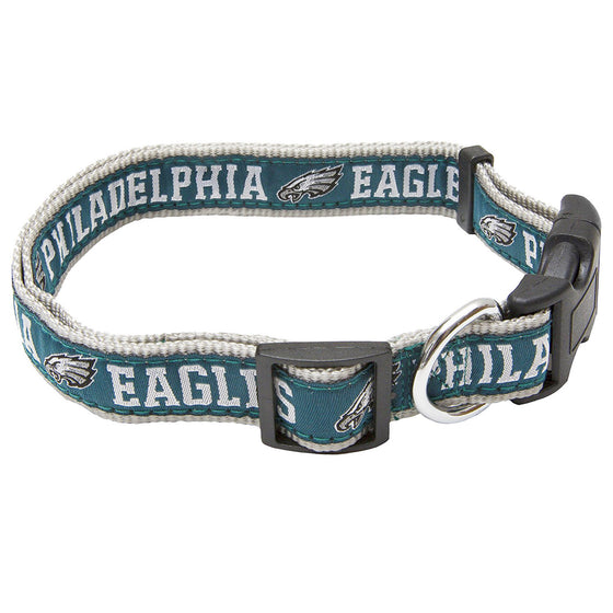 Philadelphia Eagles Adjustable Dog Collar