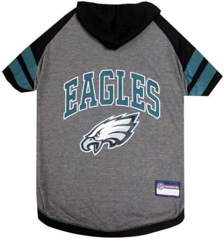 Philadelphia Eagles Dog Hoodie Tee