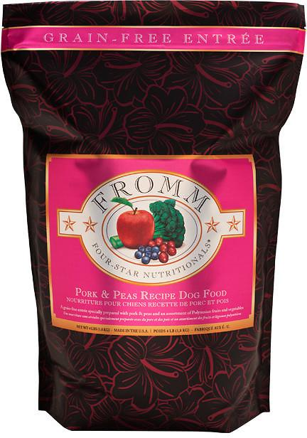 FROMM Four Star Grain Free Pork and Peas Dry Dog Food