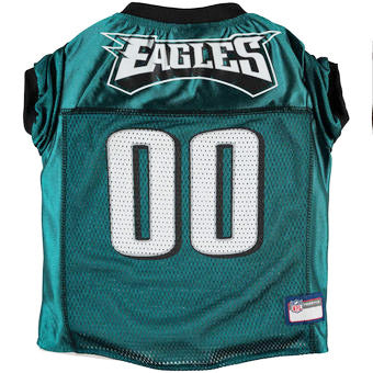 Philadelphia Eagles Green Mesh Dog Jersey
