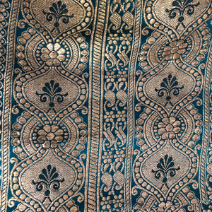 Vintage Banarasi Saree 106 - Vintage India NYC