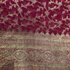Vintage Banarasi Saree 118 - Vintage India NYC