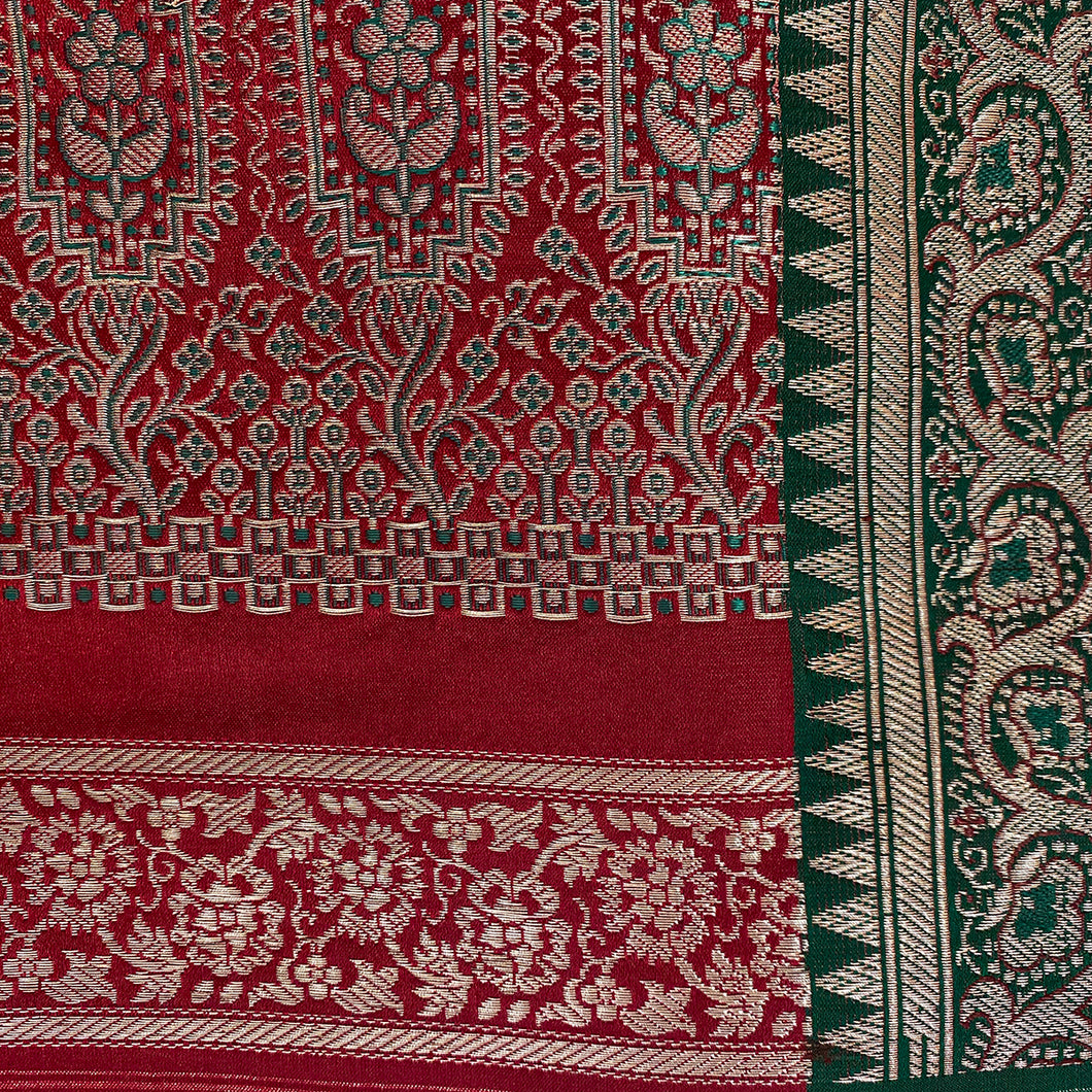 Vintage Banarasi Saree 201 - Vintage India NYC