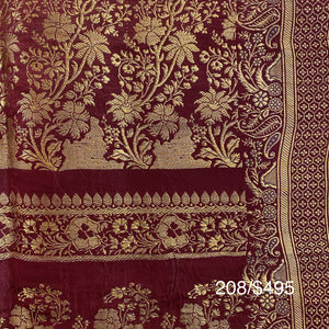 Vintage Banarasi Saree 208 - Vintage India NYC