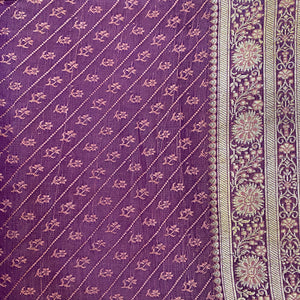 Vintage Banarasi Saree 223 - Vintage India NYC