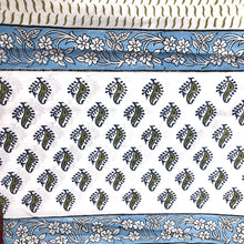 JM Fine Cotton Blockprint Sheets - Vintage India NYC