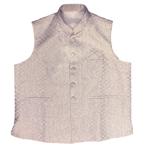 BN Silver Vest-Big & Tall - Vintage India NYC