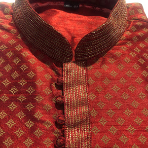 DK Brocade Kurtas- 3 Colors Men Kurta - Vintage India NYC