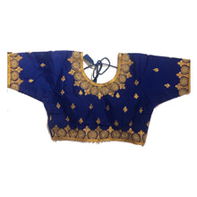 IE Gold Embroidered Choli Blouse - Vintage India NYC