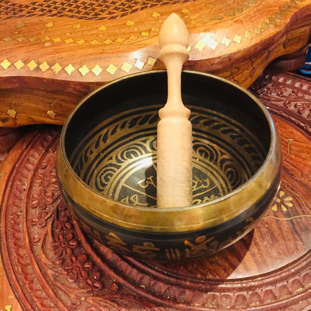Singing Bowl Nepal - Vintage India NYC