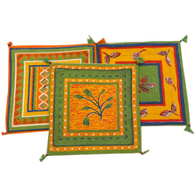 Multicolored Quilted Pillow Cover - Vintage India NYC