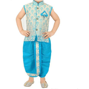 MJ Newborn Vest and Dhoti set