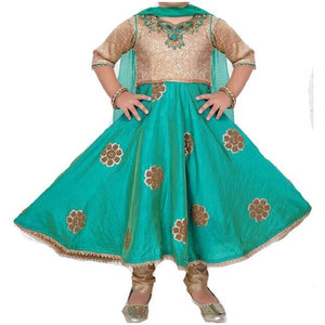 MJ Girls Anarkali Set - Vintage India NYC