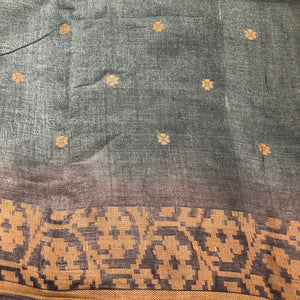 VM Tussar Silk Saree 11