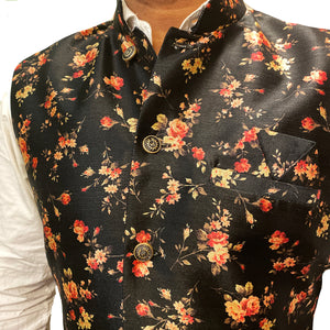 YD Floral Vests- 2 Colors