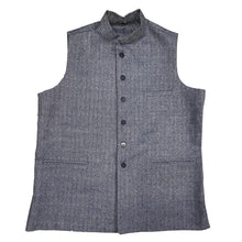 Wool Nehru/ Modi Vest - Vintage India NYC